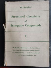 structural chemistry of inorganic compounds(16开英文版无机化合物的结构化学一二两卷)