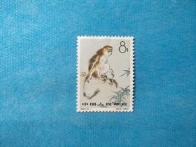 特60-1 金丝猴 8分 1枚 (新邮票)