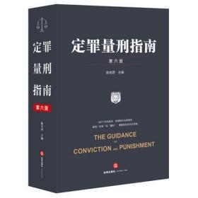 定罪量刑指南:第六版 陈有西 法律出版社