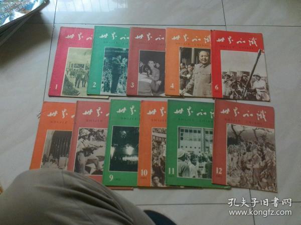 世界知识杂志 1965年 全年[1-24]期