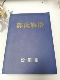 郭氏族谱 (河南省登封市盆窑)