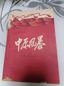中原风暴(河南革命斗争回忆录)1961年编辑