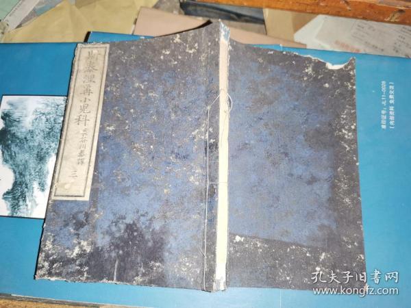 斯泰涅尔小儿科  三 18.4×12.5厘米   63叶 126面 书砖