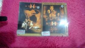 盗墓迷城1 2 DVD