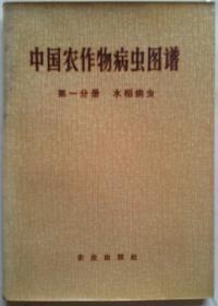中国农作物病虫图谱 第一分册 水稻病虫[彩图]