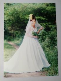 彩色照片:婚纱(12*18cm)+底片