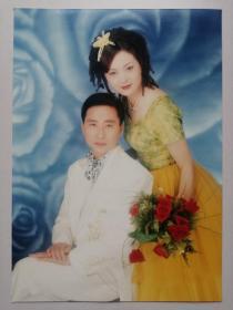 彩色照片:结婚(12*18cm)