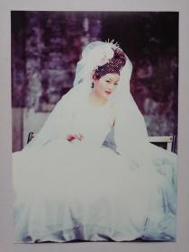 彩色照片:婚纱 美女(12*18cm)