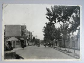 老照片:老街旧景