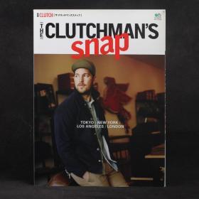 日文原版雜志 別冊CLUTCH  THE CLUTCHMAN'S SNAP 2015年