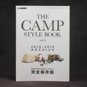 日文原版雜志現貨 別冊 GO OUT  THE CAMP STYLE BOOK 2010-2015 ARCHIVE