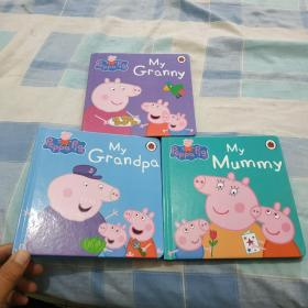 Peppa pig小猪佩奇(3本精装)
