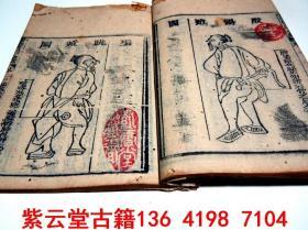 【清】木刻版画,中医;外科【医宗金鉴-卷10】#5632