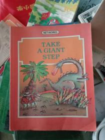英文原版take a glant step 迈出一步,彩色版G