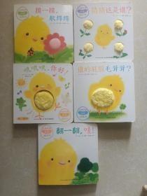 小鸡球球触感玩具书:全5册G