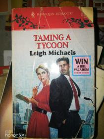 英文原版taming a tycoon leigh michaels 驯服大亨利·迈克尔斯