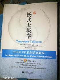 中国武术段位制系列教程:杨式太极拳(盘2张全新)