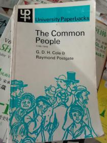 英文原版The common people1746-1946普通民众1746-1946