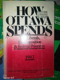 英文原版how ottawa spends渥太华如何消费