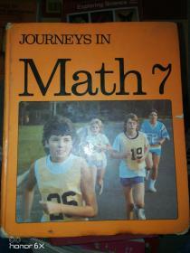 英文原版journeys in math7  数学之旅7