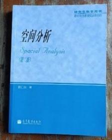 空间分析 第2版第二版 郭仁忠 高等教育 9787040099300