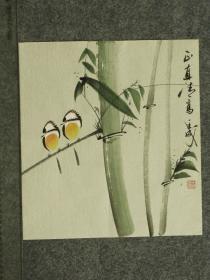【保真】王成老师国画精美小花鸟  画工精湛 栩栩如生 人见人爱  物美价廉 编号010448