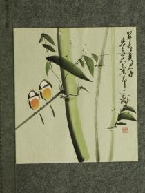 【保真】王成老师国画精美小花鸟  画工精湛 栩栩如生 人见人爱  物美价廉 编号010443