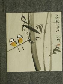 【保真】王成老师国画精美小花鸟  画工精湛 栩栩如生 人见人爱  物美价廉 编号010453