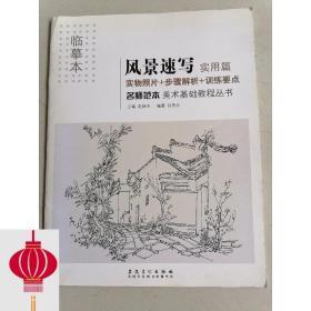 现货发货快!!美术基础教程丛书:名师范本·风景速写·实用篇(