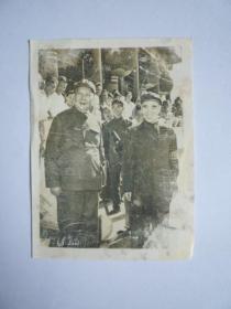 文革照片:毛主席和林彪副主席【保真保文革】