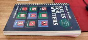 英文原版书 作家规则Rules for Writers