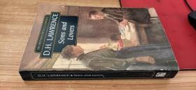 英文原版书 儿子与情人 劳伦斯D.H. Lawrence Sons