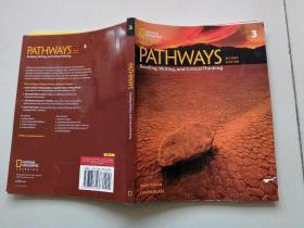 美国国家地理青少英语教材Pathways Reading Writing 第二版读写强化训练3级学生书 英文原版