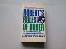 ROBERT;S  RULES  OF  ORDER