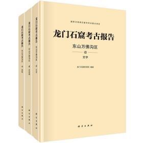 龙门石窟考古报告:东山万佛沟区(全三册) 9787030694034