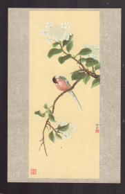 1957年 老画片  琼花山青图 徐玥作