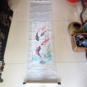 82年老画家纯手绘《白蛇传》断桥、倒影、盗草游湖。手绘原稿8开4张150元