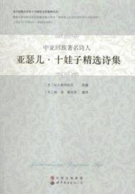 中亚回族诗人亚瑟儿·十娃子诗集9787510099205 依玛佐夫世界图书出版广东有限公司众木丛林图书