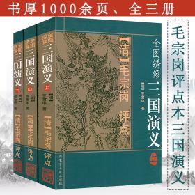毛宗岗评点本:全图绣像三国演义(上中下)