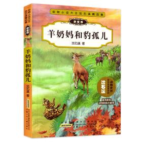 动物小说大王沈石溪精品集(拼音版):羊奶妈和豹孤儿