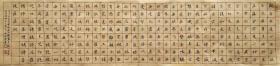孙晓云  小楷《般若波罗蜜多心经》横幅手写书法作品