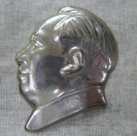 毛主席像章铜头像章