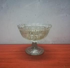 古典美观的民国高足玻璃盆