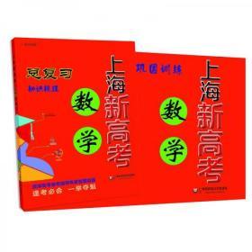 上海新高考·数学总复习 全新正版 绝版红宝书
