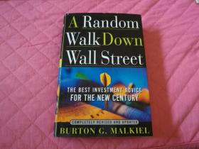 英文原版书籍【A Random Walk Down Wall Street】精装本461页厚册(随机漫步华尔街)