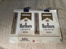 烟标   Marlb0r0  2张