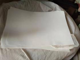 老白纸  白  90年代  双面光  一般厚 微透  单张价格
