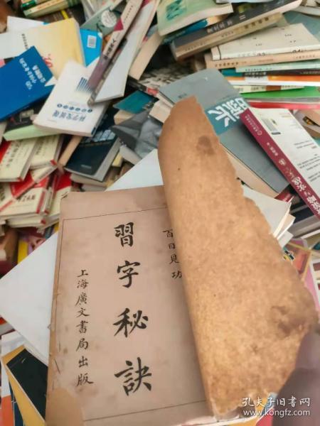 百日见功:习字秘诀(全一册)繁体竖版民国九年毛笔书法习字帖宣纸刻印版包邮
