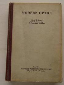 modern optics 现代光学 英文 精装