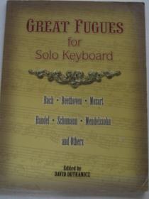 Great Fugues for Solo Keyboard经典赋格键盘乐独奏